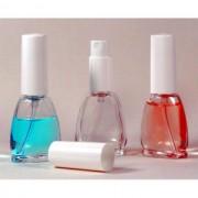 Sticluta cu pulverizator si capac de PVC ptr. parfum - Brigitte 12 ml