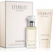 Calvin Klein Eternity lote de regalo eau de parfum 30 ml + leche corporal 100 ml