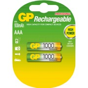 Acumulator AAA (R3) NiMH Recyko+ 1000mAh 2 buc/blister GP