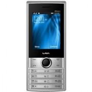 Lava KKT 40 Power Plus 2.4 display 1.3 MP camera 3000 mAh battery Auto Call Recording Mobile Tracker-(Black-Silver)