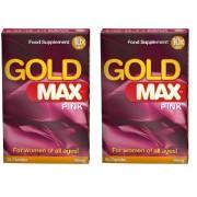 Gold Max Pink för kvinnor-Mer Lust 20kaps