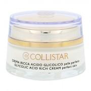 Collistar Pure Actives Glycolic Acid Rich Cream crema giorno per il viso per tutti i tipi di pelle 50 ml Tester donna
