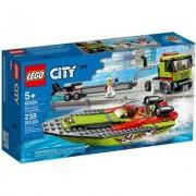 Lego Klocki LEGO City - Transporter łodzi wyścigowej LEGO-60254