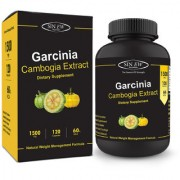 Sinew Nutrition Garcinia Cambogia Extract -(120 Capsules) 1500 mg Pure Natural Weight Management Appetite