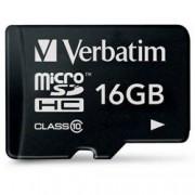 Verbatim Memoria Micro SDHC 16 Gb - Classe 10