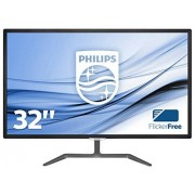 Philips 323e7qdab/00 80 cm (32 inch) monitor (VGA, DVI, HDMI, 1920 x 1080, 60 Hz, 5 ms) Zwart