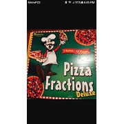 Learning Resources Pizza Fractions Deluxe