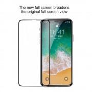 Стъклен протектор за Apple iPhone X / iPhone XS / iPhone 10 (Темперирано закалено стъкло) ''3D Baseus - пълно залепване''