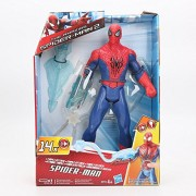 Spiderman Ultimate Spider-Man Type 2 Web Warriors Titan Hero Series Electronic Spider-Man 26cm Figure