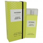 Selectiva Spa Notebook Citrus & Green Tea Eau De Toilette Spray (Unisex) 3.4 oz / 100.55 mL Men's Fragrances 541914