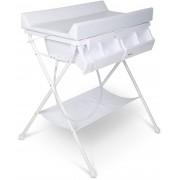Beemoo Care Wickeltisch mit Babybadewanne, Weiß