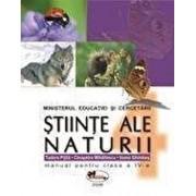 Stiinte ale naturii. Manual clasa a IV-a/Cleopatra Mihailescu, Tudora Pitila, Ioana Ghimbas
