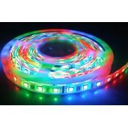 LED szalag , kültéri , 5 méteres tekercs, 5050 , 300 LED , 60 Watt (12 W/m) , RGB