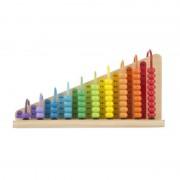 Numaratoare adunarea si scaderea, 18 x 33 x 10 cm, Multicolor
