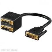 Cablu DVI la 2 DVI