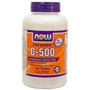 Now C-500 Vitamin narancs ízű rágótabletta 100db