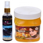 PINK ROOT GOLD LEAF GEL 500ML - PR CHARCOAL FACE WASH