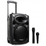 Ibiza Port 8 VHF-BT mobile PA-Box Akku Trolley Bluetooth USB SD 200W RMS schwarz