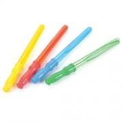 """Dozen Assorted Color Large (14.5"""") Bubble Wands W/Bubbles"""