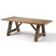 MCA Furniture Esstisch Bristol Eiche massiv Wildeiche 220x100 cm