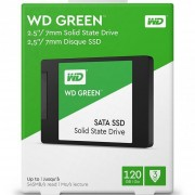 DISCO DE ESTADO SOLIDO WD GREEN 120GB SSD SATA 2,5''