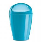 KOZIOL Odpadkový koš DEL M, 12 l- barva tyrkysová, KOZIOL