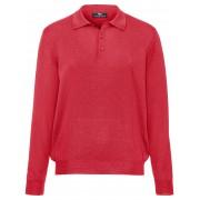 Peter Hahn Tröja krage i 100% ren ny ull, modell Achim från Peter Hahn röd