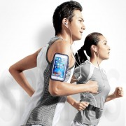 Joyroom Deportes Al Aire Libre Correr Gym Stretch Caso Diferente Titular Waist Bag + Brazalete Pack Set, Para IPhone, Samsung, Nokia, Huawei, Meizu, Lenovo, Asus, Oneplus, Xiaomi Y Otros (por Debajo De 6 Pulgadas)
