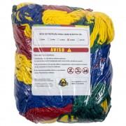 Rede de Proteção Colorida para Cama Elástica de 3,66 m