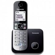 Telefon fara fir DECT Panasonic KX-TG6811FXB Negru/Gri