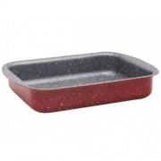 Тава за печене ZEPHYR Red Passion ZP 1222 ES37, 37х29.5 см, Мраморно покритие, Червена