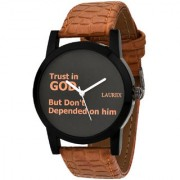 Laurex Analog Round Casual Wear Watches for Men LX-111