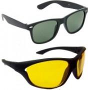 Redleaf Wayfarer, Sports Sunglasses(Green)