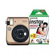 Fuji Instant Camera Instax Mini 70 Gold 30 Shots