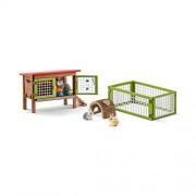 Schleich Rabbit Hutch Play Set (8 Piece)