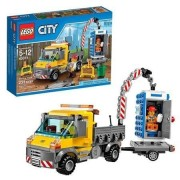 Lego City Service Truck With A Driver And Worker, Construction Site, 233 Pieces, Multicolor
