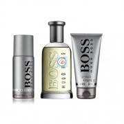 Hugo Boss Boss Bottled eau de toilette 100ML + 150 ml deo spray + 100 ml gel doccia