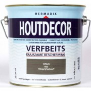 Hermadix houtdecor 660 transparant grijs 2500 ml