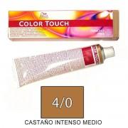 Wella COLOR TOUCH Tinte 4/0 tamaño 60ml