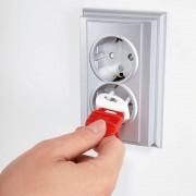 Pachet economic 36 protectii pentru prize electrice universale REER 29010