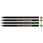 Creion Grafit HB Lemn Negru Trio Adel
