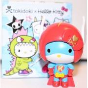 Tokidoki X Hello Kitty 2.5 Inch Vinyl Figure Superhero Kitty