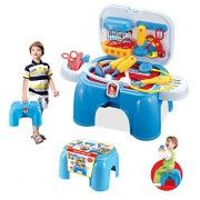 Toys Bhoomi Brand New 2 in 1 Doctors Play Set & Chair - Dentist Trunk