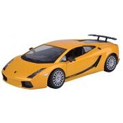 Motormax 1:24 Lamborghini Gallardo Superleggera Diecast Car (Metallic Yellow)
