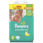 Pampers Active Baby-Dry pelene, mega pakiranje, veličina 3 (Midi) 5-9 kg, 152/1 - 3