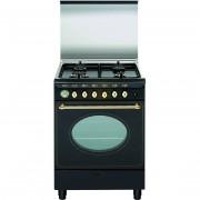 Glem Gas Ua66vr3 Cucina 60x60 4 Fuochi A Gas Forno Elettrico Termoventilato 64 L
