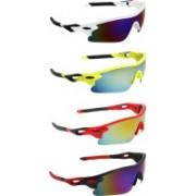 Abner Sports Sunglasses(Multicolor)