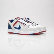 Nike air force ii low White/Blue Void/Red Crush/White