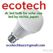 LED BULB DC FOR SOLAR USE 3 WATT.
