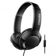 Philips слушалки с микрофон, цвят: черен, SHL3075BK
